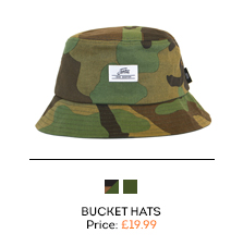Fortis Eyewear Camo Bucket Hat