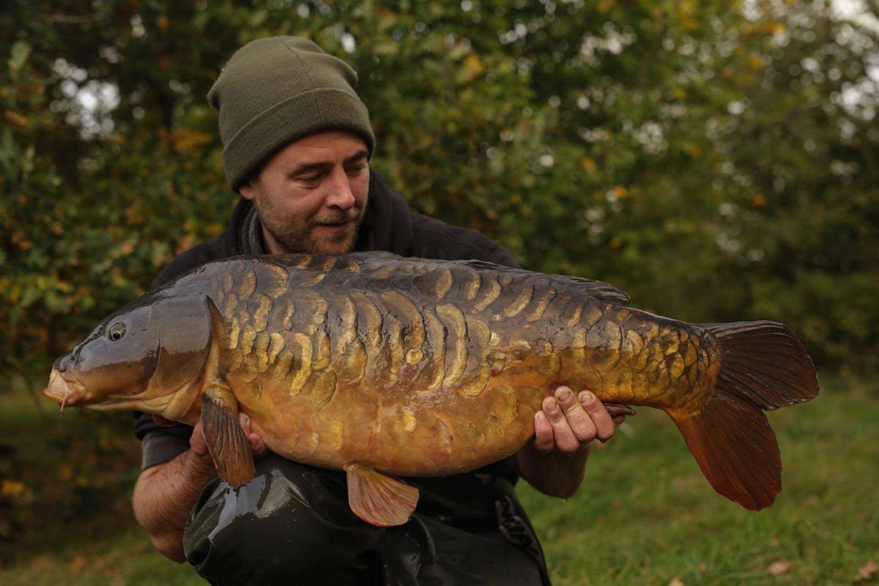 Myles Gibson Scaly Carp Fishing