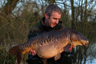 Big Mirror Carp for Si Bater