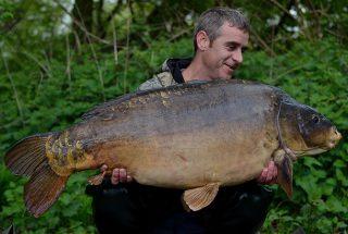 Simon Bater Big Carp Angler from the UK