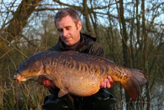 Simon Bater Big Mirror Carp from the UK