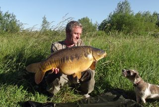 Simon Bater Big Linear Carp from the UK