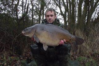 Carp Angler Simon Bater