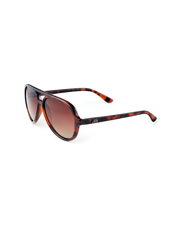 Fortis Eyewear Aviator Graduated Brown Polarised Carp Fishing Sunglasses AV001