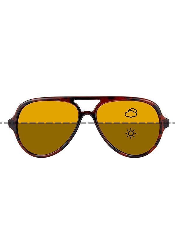 Fortis Eyewear Aviator Switch Photochromic Polarised Carp Fishing Sunglasses AV003