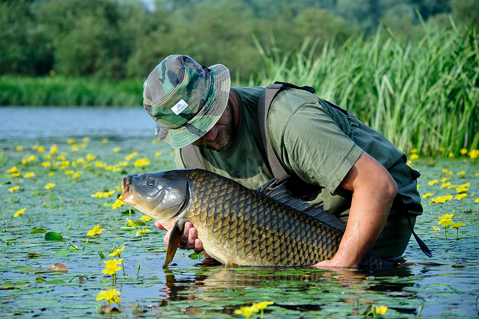 Carp Fishing in Germany with Etienne Gebel and Fortis Eyewear