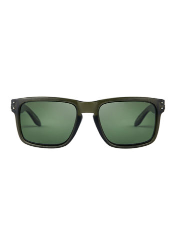 Fortis Eyewear Bays Junglist Green Polarised Carp Fishing Sunglasses BY005