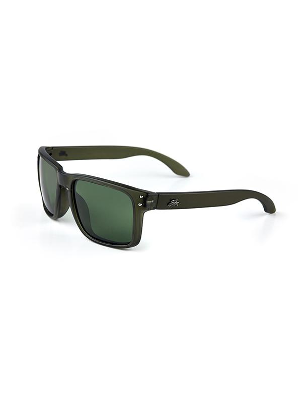 Fortis Eyewear Bays Junglist Green Polarised Carp Fishing Sunglasses BY005