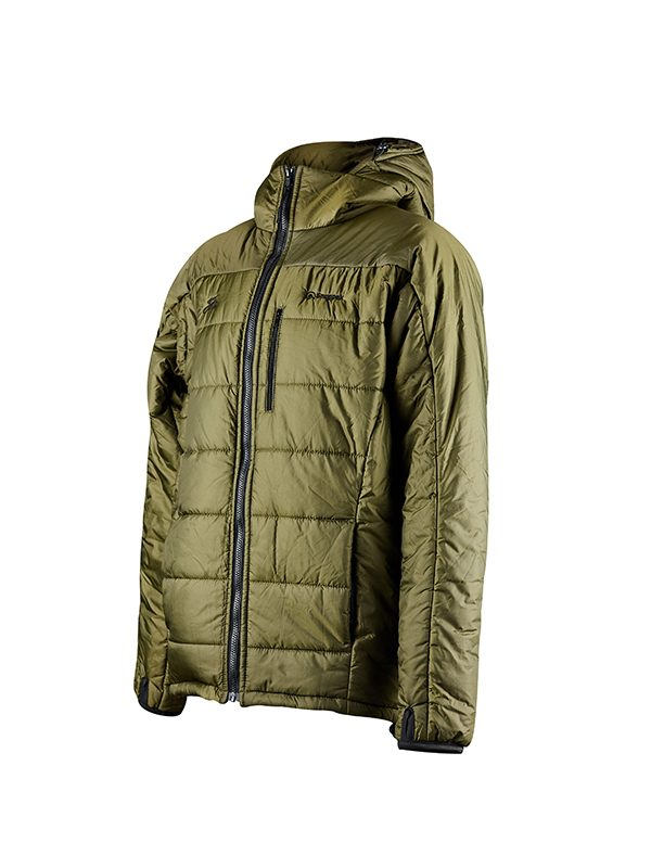 Fortis X Snugpak FJ6 in Olive is the perfect winter coat for carp angler's