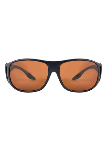 Fortis Eyewear OverWraps 247 Brown Polarised Carp Fishing Sunglasses OW001