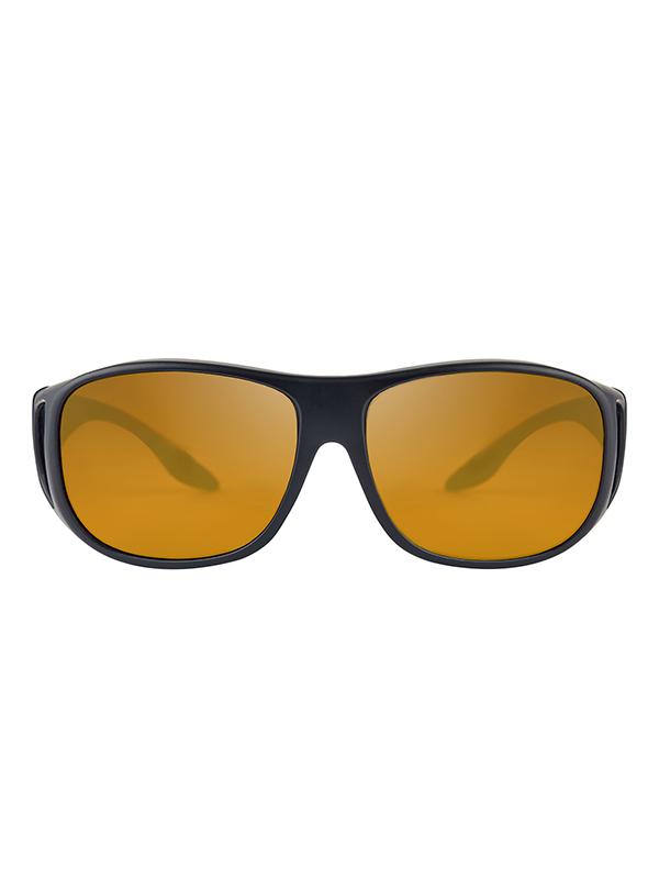 Fortis Eyewear OverWraps AMPM Amber Polarised Carp Fishing Sunglasses OW002