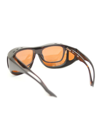 Fortis Eyewear Polarised OverWrap Sunglasses to Fit Over prescription glasses