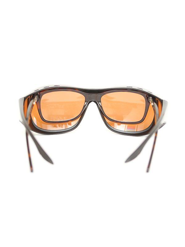 Fortis Eyewear Polarised OverWrap Sunglasses to Fit Over prescription glasses