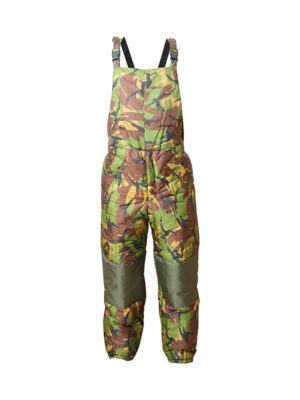 Fortis X Snugpak Salopettes in DPM the perfect trousers for carp angler's