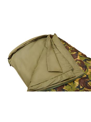 Fortis Techlite Sleeping Bag in DPM for Carp fishing