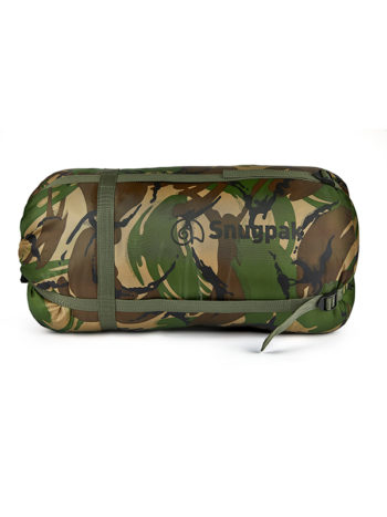 Fortis Techlite Sleeping Bag in DPM for Carp fishing