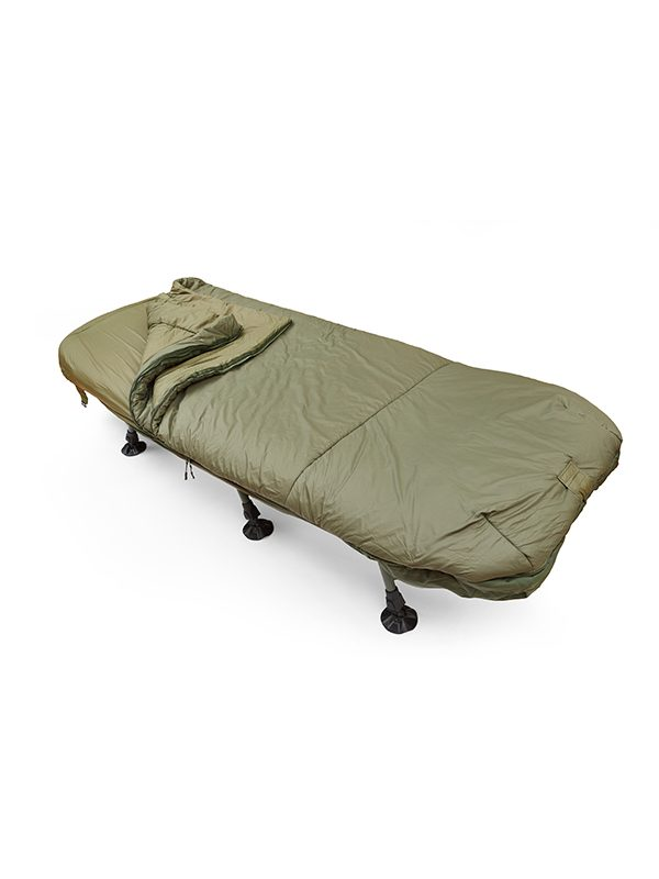 Fortis Techlite Sleeping Bag in Olive for Carp fishing