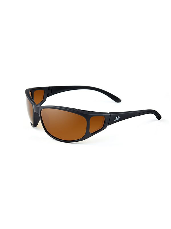 Fortis Eyewear Brown Wraps 247 WR001 Polarised Fishing Sunglasses