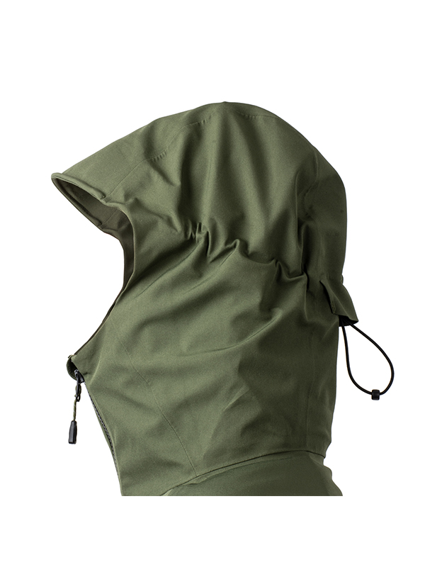 Fortis Marine Waterproof Jacket Hood Detail