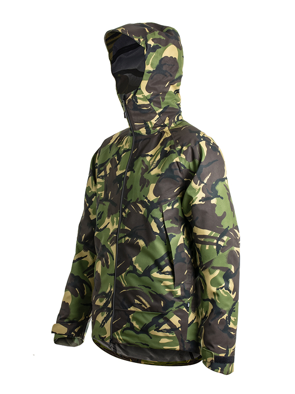 Fortis Eyewear Marine Jacket DPM Waterproof Jacket for Fishing