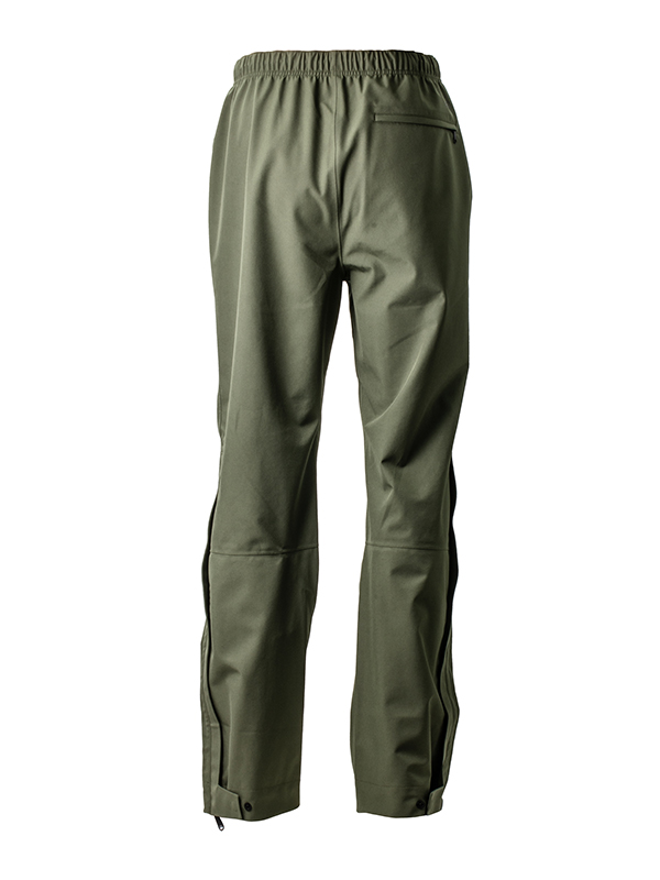 Fortis Marine OverTrouser Olive Waterproof Fishing Trousers Back