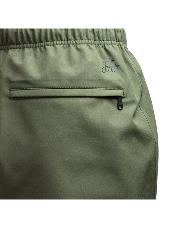 Fortis Marine OverTrouser Olive Waterproof Fishing Trousers Pocket Detail