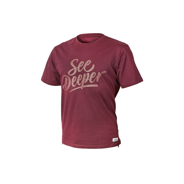 Fortis Maroon See Deeper T-Shirt
